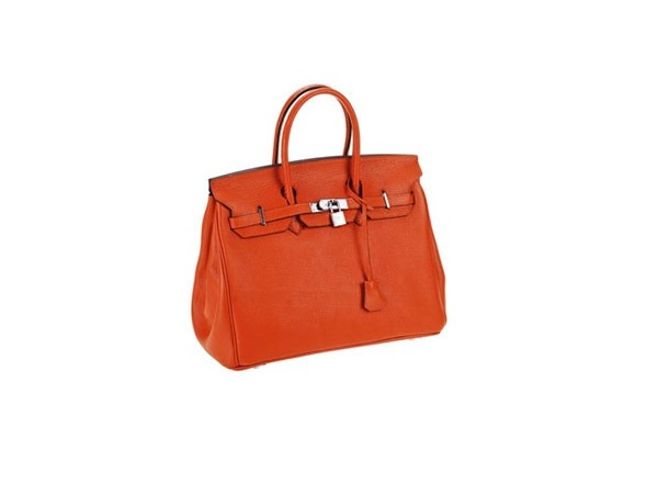 The Beatuiful Birkin Bag Replica Is Bright Orange