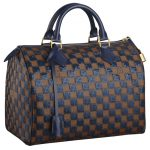 louis vuitton damier paillettes speedy 30 black