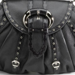 Christian Dior Two-Textured Leather Satchel