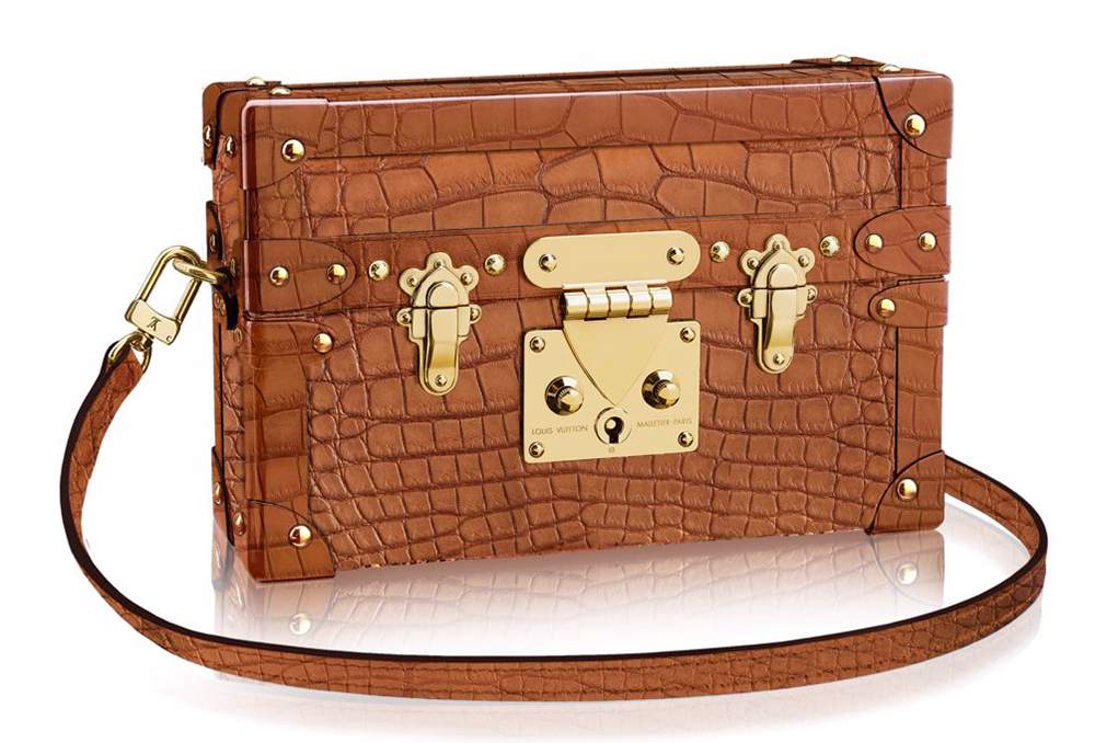 Louis-Vuitton-Crocodile-Petite-Malle-with-Strap