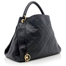 louis vuitton monogram empreinte artsy mm bag black