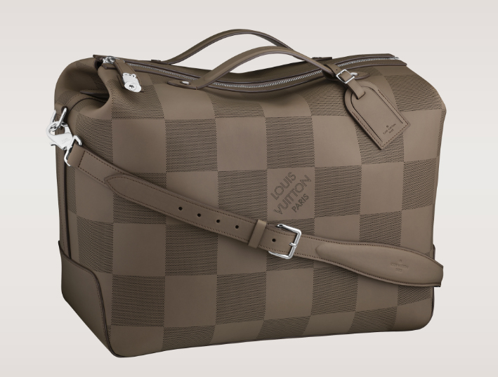 Louis Vuitton Damier Leather Tote Bag